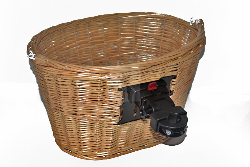 Koszyk prezentowany od tyło wraz z uchwytem